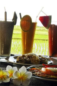 Puri Dewa's Tropical Breakfast